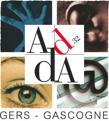 Logo de l'Association Départementale pour le Développement des Arts – ADDA 32