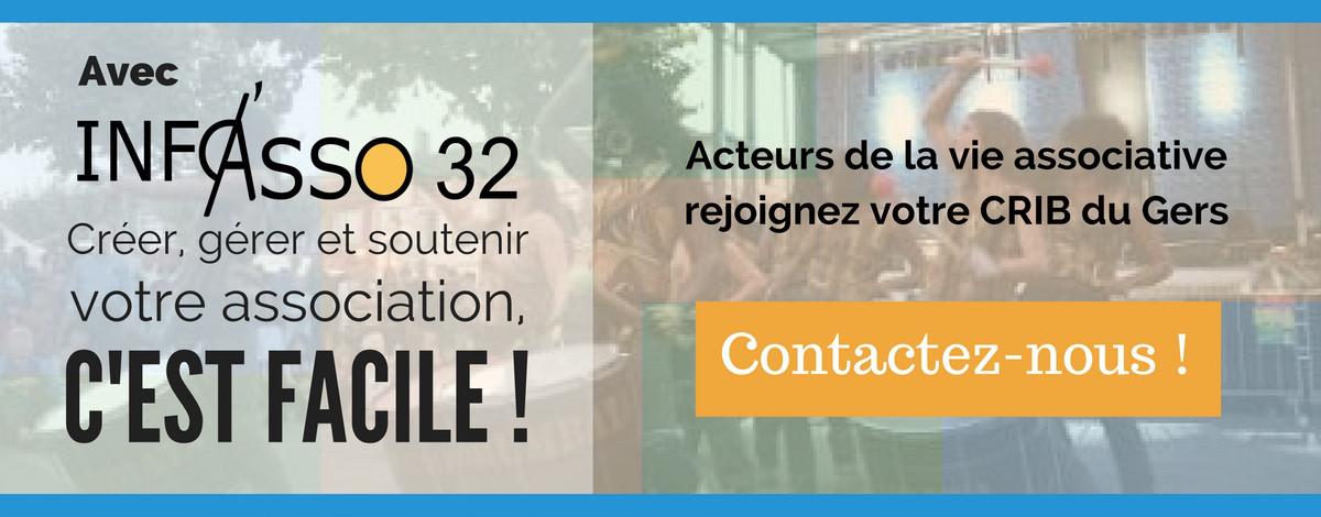 Contactez Info'Asso, le CRIB du Gers