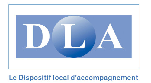 Logo du Dispositif Local d'Accompagnement - DLA