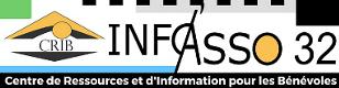 Logo Info'Asso 32 CRIB du Gers