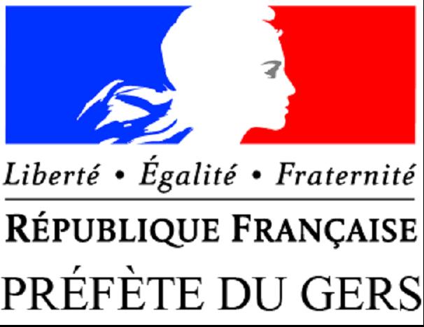 Logo de la Direction Départementale de la Cohésion Sociale et de la Protection des Populations du Gers – DDCSPP