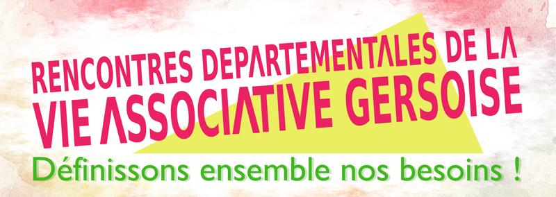 Rencontres Départementales de la Vie Associative Gersoise 2018