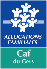 Logo de la CAF du Gers