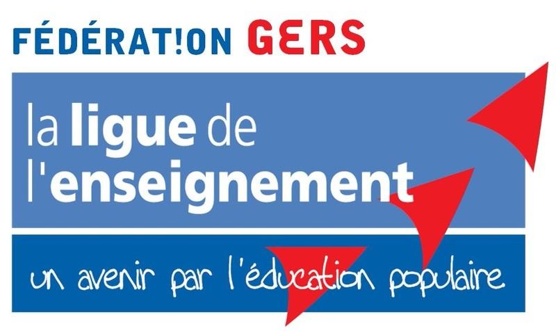 Logo de la Ligue de l'Enseignement du Gers