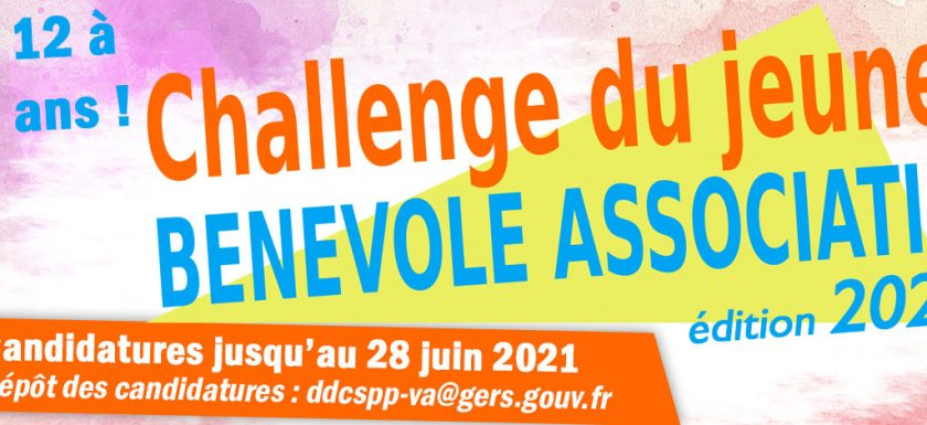 Challenge du jeune bénévole associatif 2021